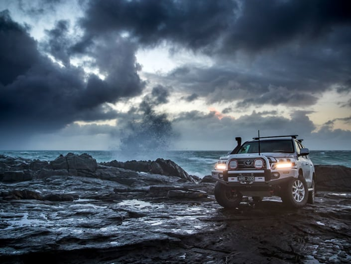 4wd on rocks - slider image- Offroad 4x4 accessories