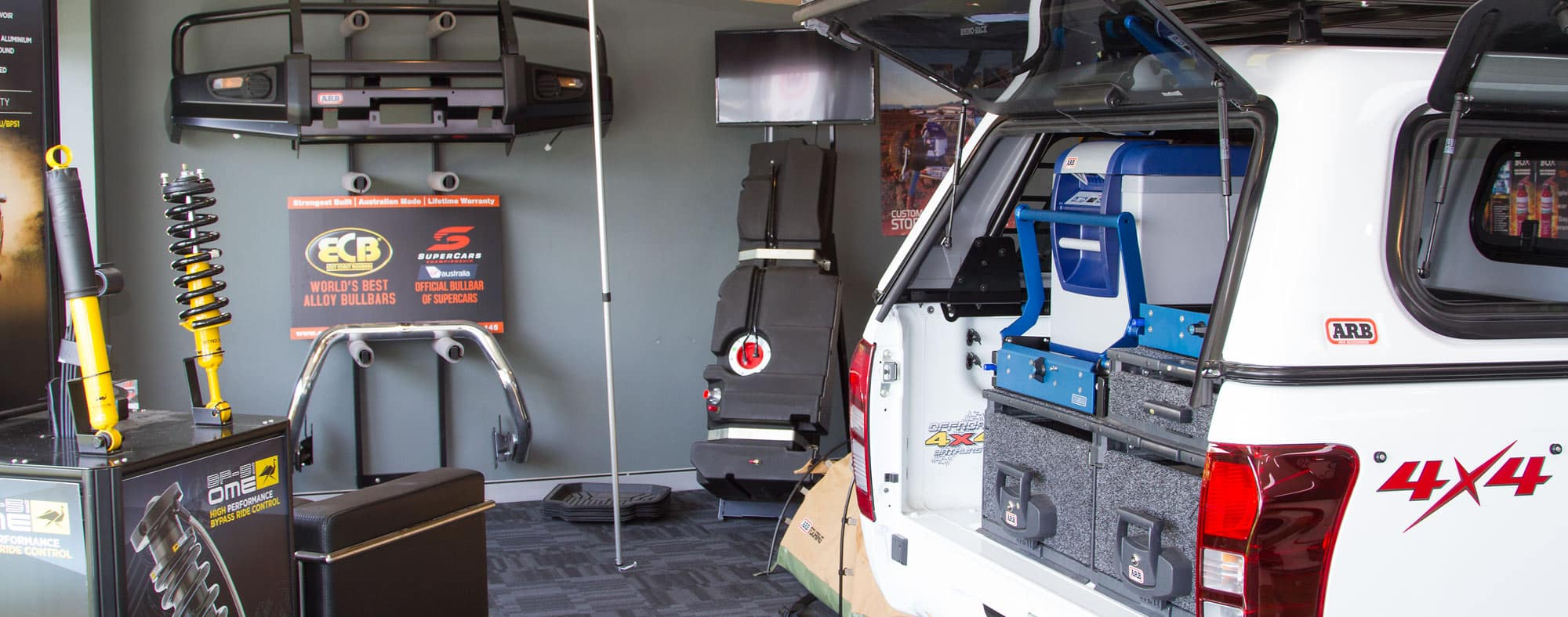 Picture of inside of showroom- Offroad 4x4 Bathurst Showroom
