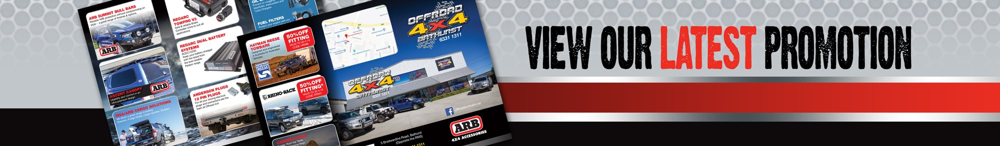 offroad 4x4 latest newsletter promotion banner
