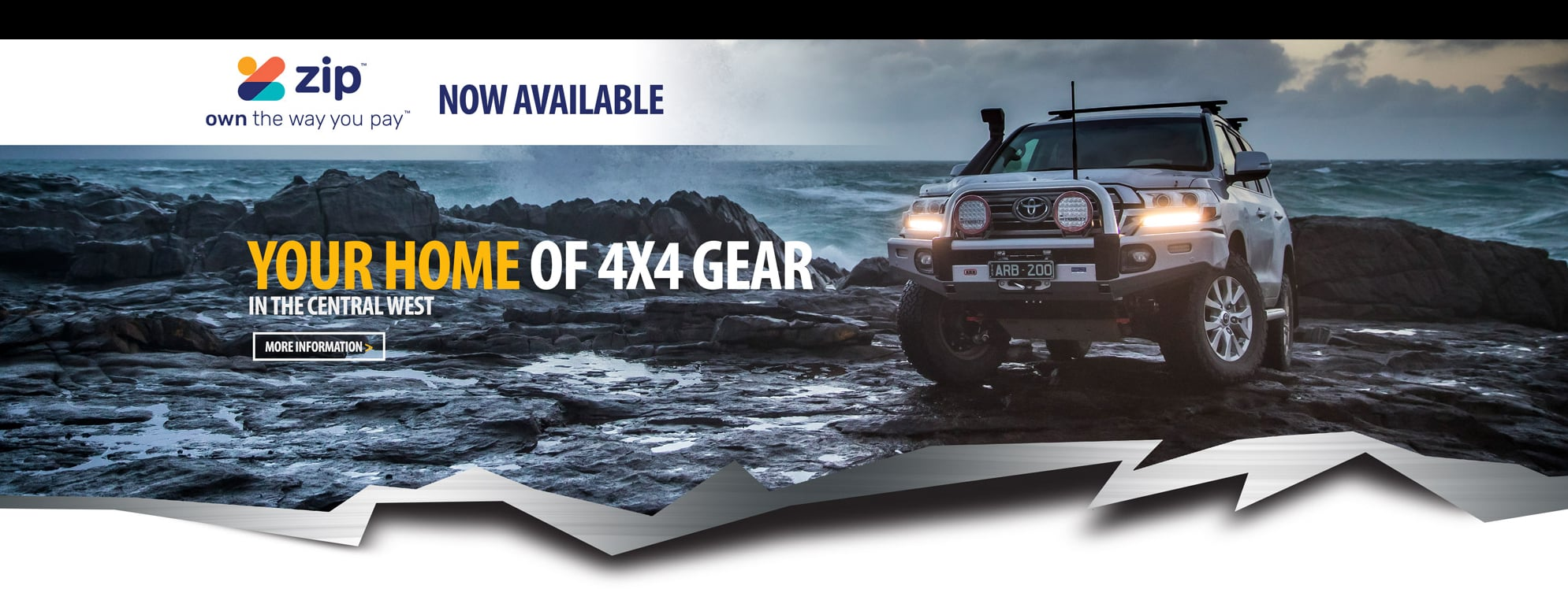 Offroad 4x4 banner - 4x4 accessories Bathurst